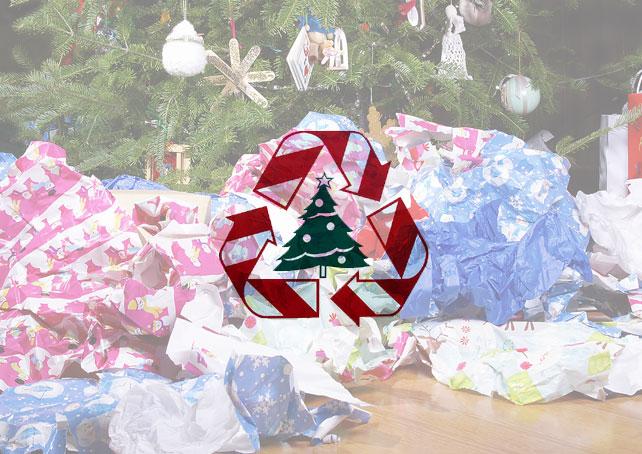 Image of recycling wrapping paper