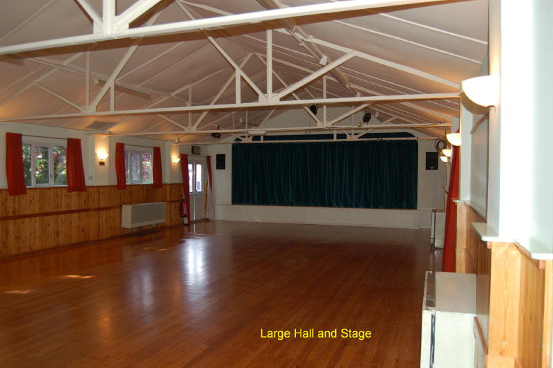 Image of Village Hall big hall