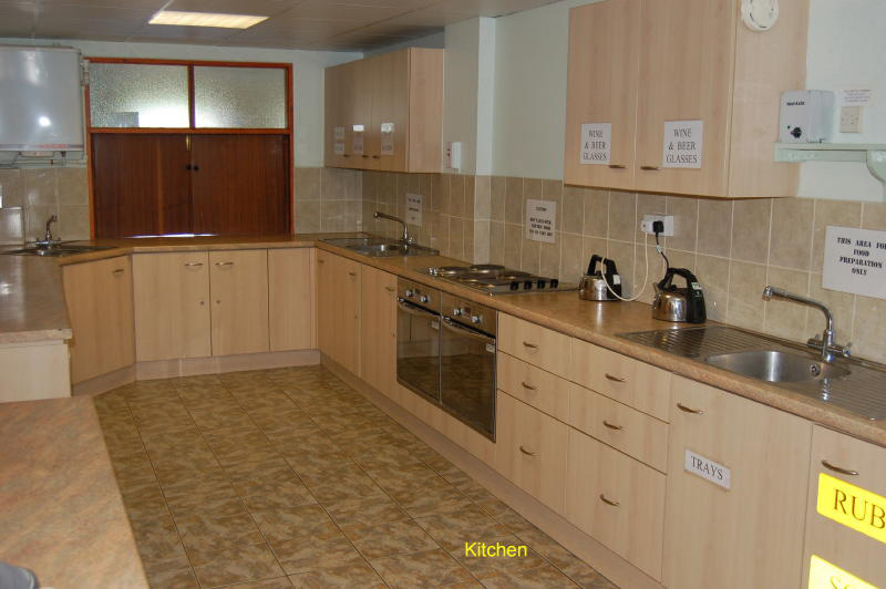 Image of Village Hall kitchen