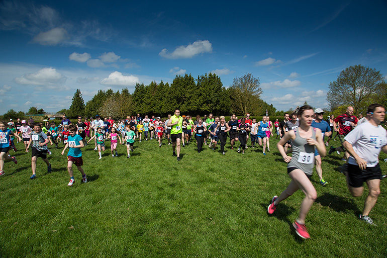 Image of the fun run