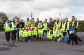 Image of litter pickers