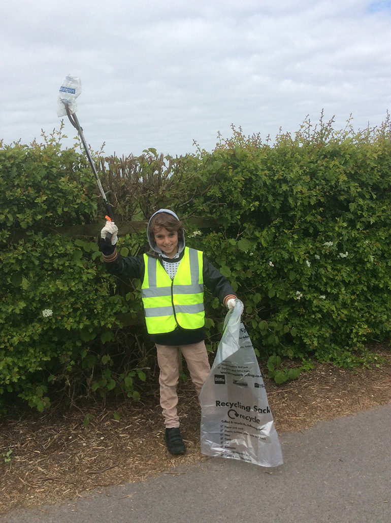 Image of litter picker