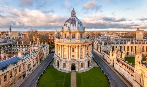 Image of the Radcliffe Camera in Oxford