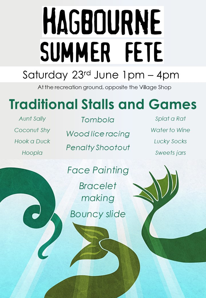 Image of Summer Fete poster
