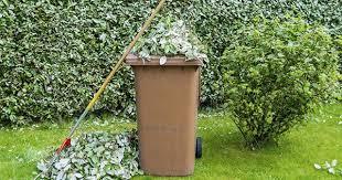 Image of garden waste brown bin