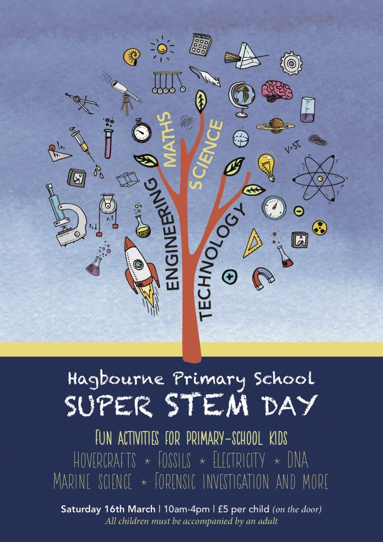 Poster of the Super Stem Day advert