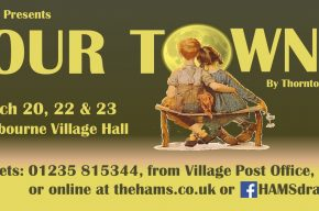 Poster for Hams production 'Our Town'