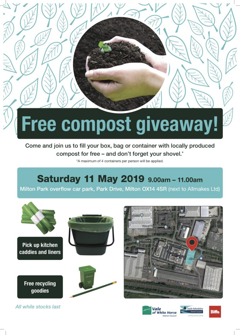 Poster of Compost giveaway info