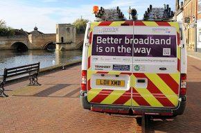 Better Broadband van