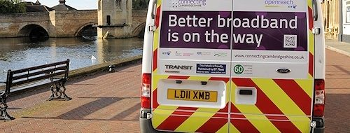 Better Broadband van