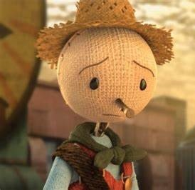 Sad scarecrow