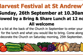 Harvest festival info